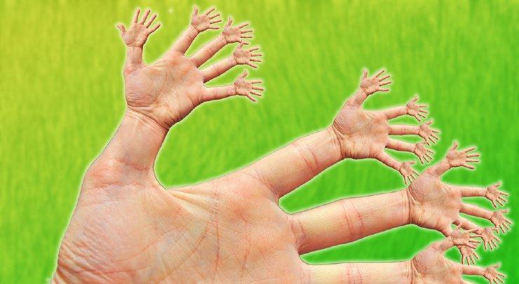 Fraktalne dłonie